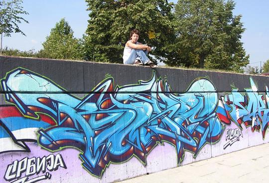 Интервью с граффити райтером Stan One. Изображение № 9.