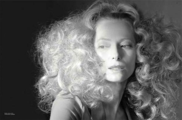 Фэшн-видео с Тильдой Суинтон и еще 10 модных съемок актрисы. Изображение № 30.