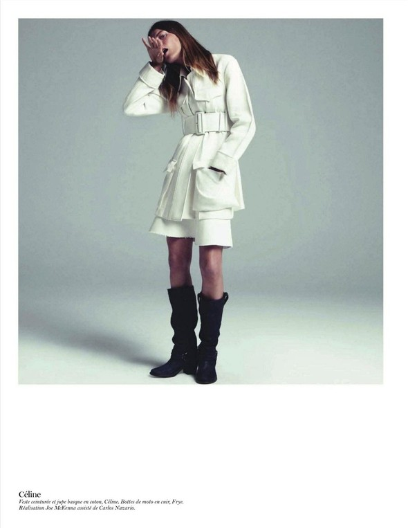 Съёмка: Дарья Вербова для французского Vogue. Изображение № 21.