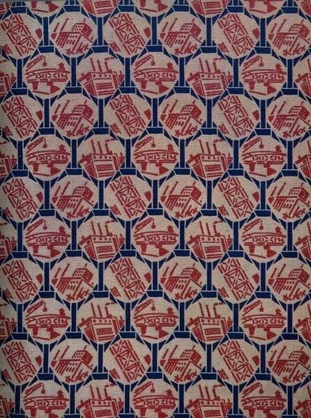 Принты советских тканей 20-30-х годов. Изображение № 3.