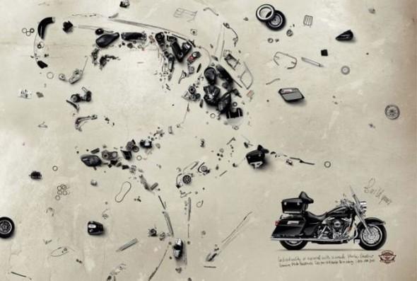 Harley Davidson: реклама легенды. Изображение № 24.