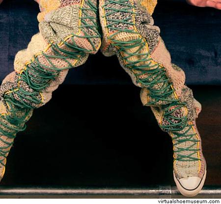 Обувь соштанами илиштаны собовью)). Изображение № 4.