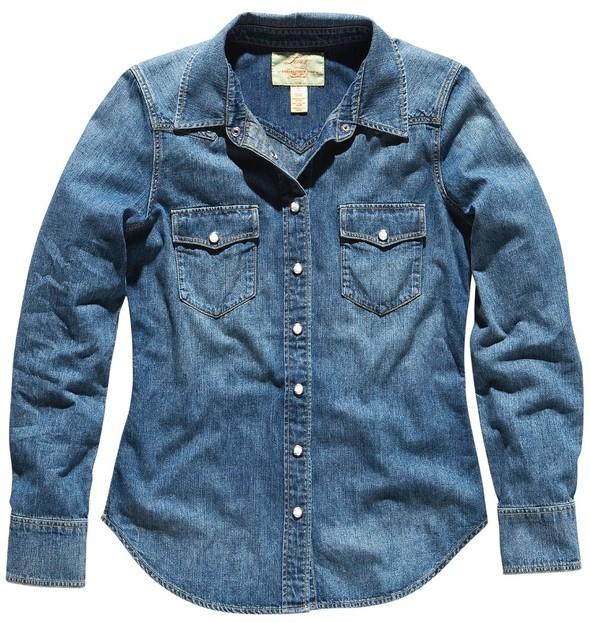 Джинсовое вдохновение: рубашка. Изображение № 21.
