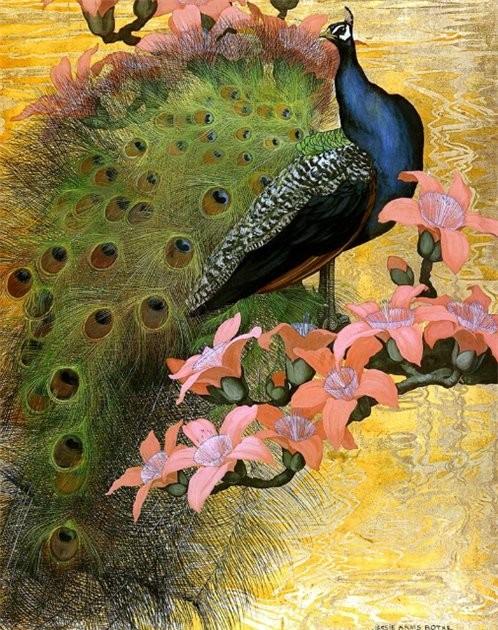 Аксессуары из павлиньих перьев. Изображение № 1.