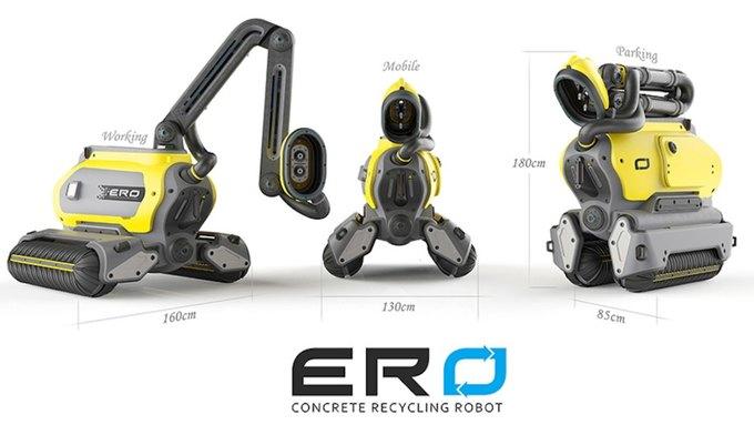 Разработан робот для сноса зданий. Изображение № 2.