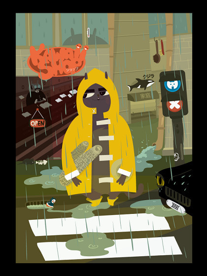 Гоу Гоу Зомби! - Иллюстратор из Санкт-Петербурга. Изображение № 3.
