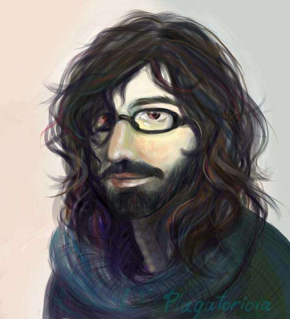 Портрет или нет 2. Осваивание графического планшета. Изображение № 4.