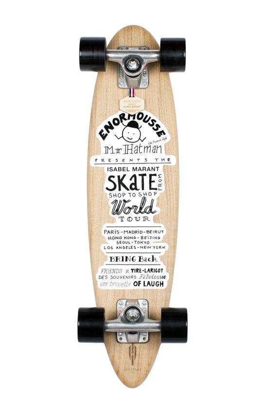 Изабель Маран создала скейтборды для Heritage Paris. Изображение № 1.