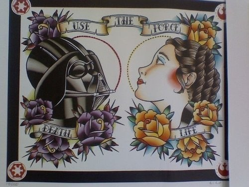 INK IT UP : Star Wars Tattoos. Изображение №1.