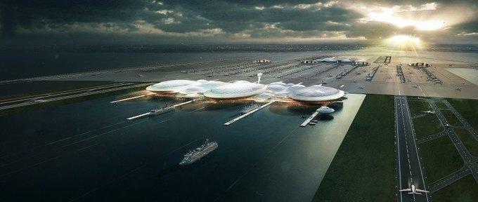 Аэропорт Лондона могут построить в устье Темзы. Изображение № 3.