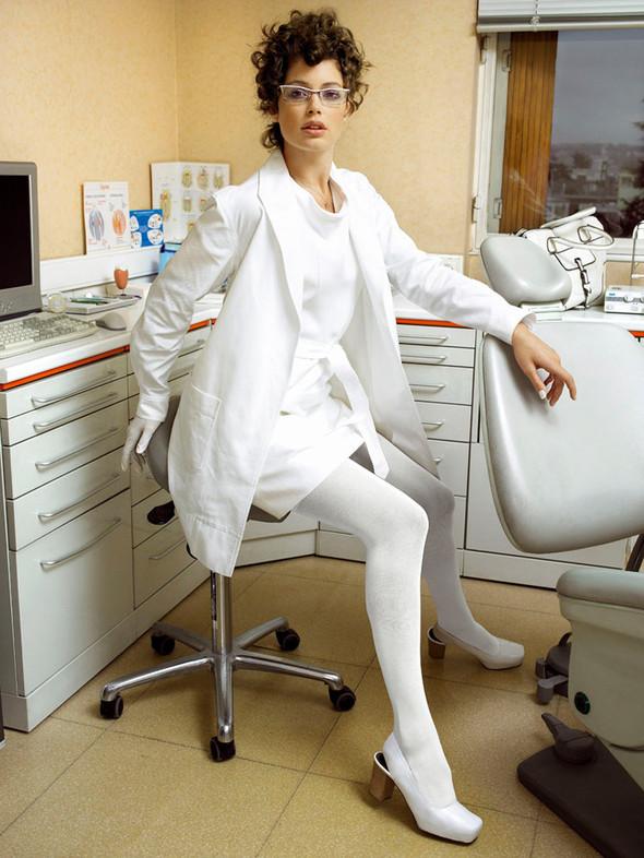 Архивная съёмка: Марио Тестино для V, 2007. Изображение № 5.