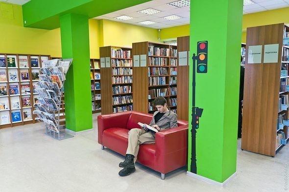 Изображение 1. Библиотека для молодежи.. Изображение № 1.