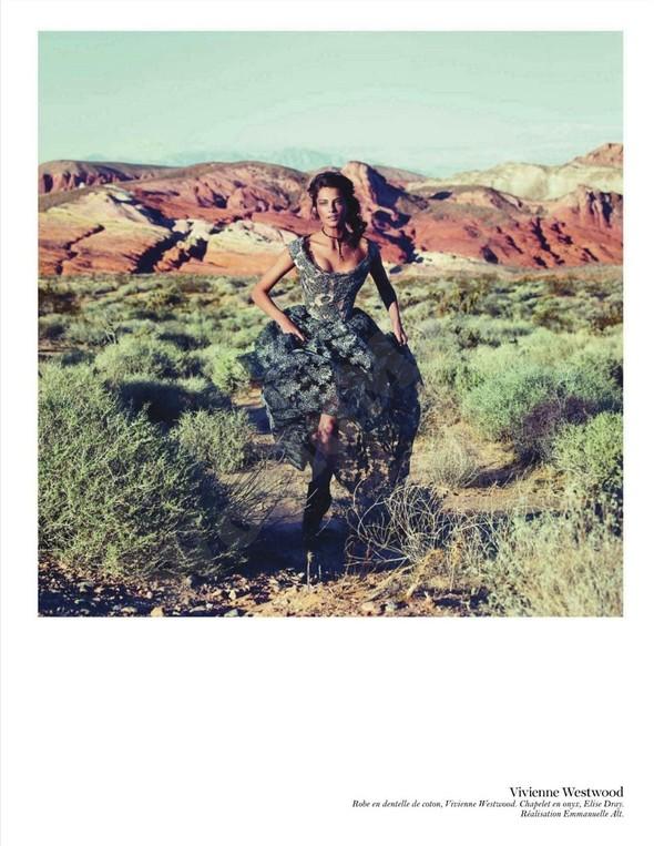 Съёмка: Дарья Вербова для французского Vogue. Изображение № 20.