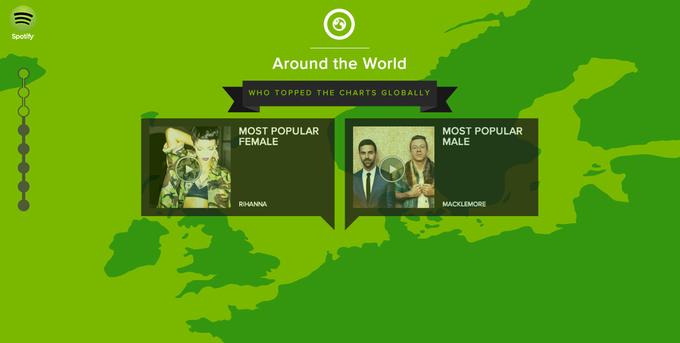 Spotify назвал самых популярных исполнителей 2013 года. Изображение № 4.