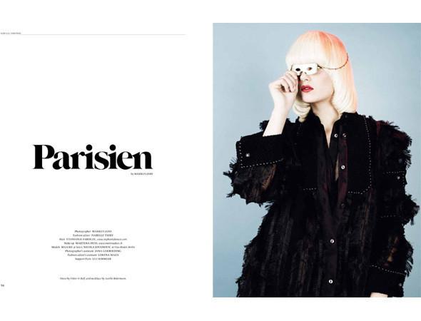 Съёмка из журнала Sleek . Изображение № 41.