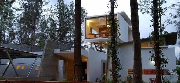 Красивые дома: Дом Павильоны в Бангалоре. Изображение № 1.