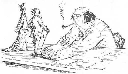 Карикатуры на писателей. Изображение № 27.