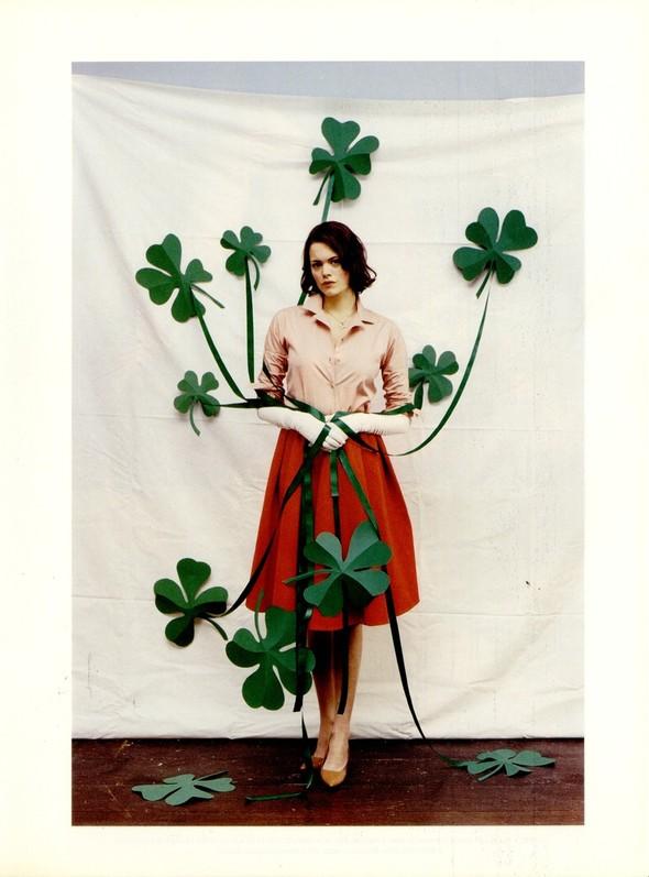 Архивная съёмка: Тим Уокер для итальянского Vogue, 2001. Изображение № 8.