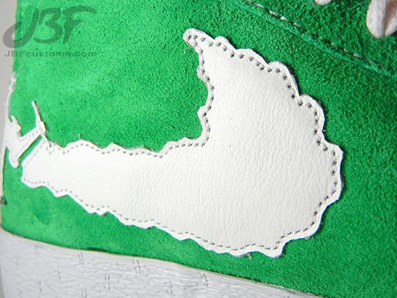 Nike Blazer Mid Jet Life II кастом от JBF. Изображение № 1.
