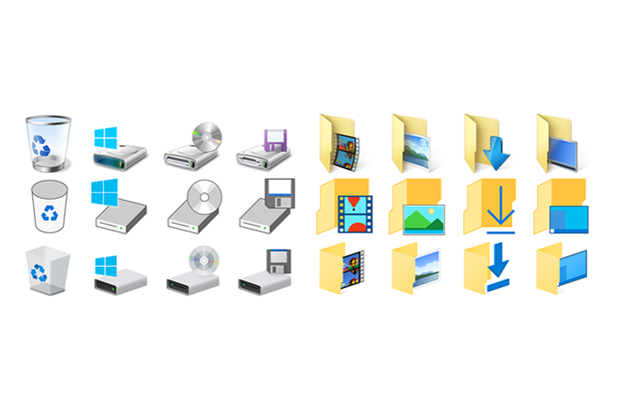 Microsoft обновила иконки вWindows 10. Изображение № 1.