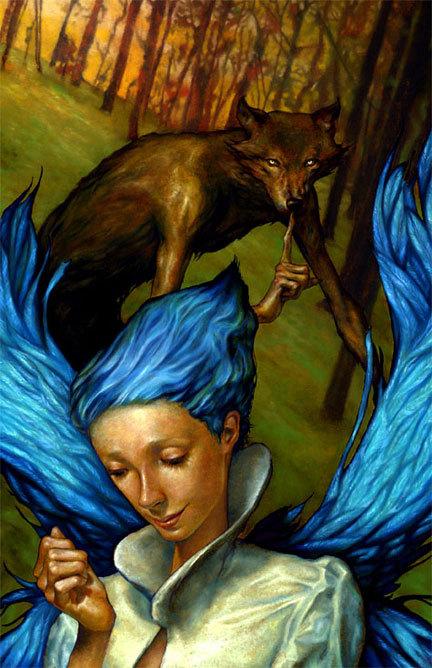 Страшное икрасивое вкартинах Andrew Esao. Изображение № 29.