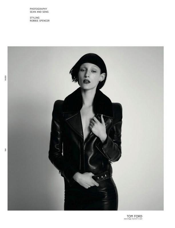 Новые съемки Dazed & Confused, Vogue, Pop и Madame Figaro. Изображение № 15.