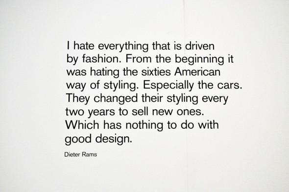 Выставка Dieter Ramsа вЛондонском Design Museum. Изображение № 20.