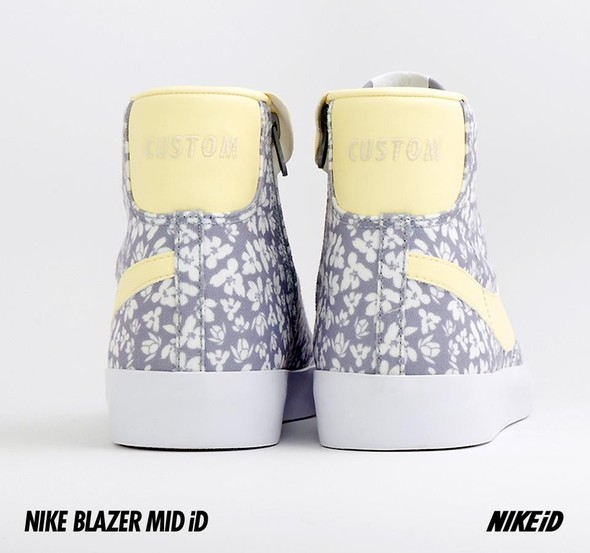 Nike X Liberty Summer Collection/  Blazer Mid iD.. Изображение № 34.