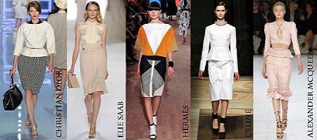 Модные юбки весна-лето 2012. Изображение № 6.