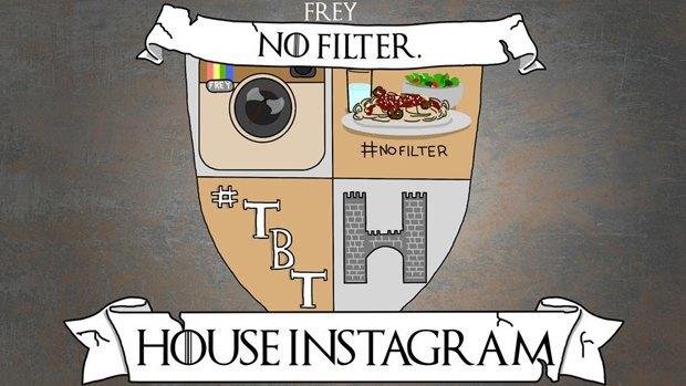 Социальные сети стали домами «Игры престолов». Изображение № 5.