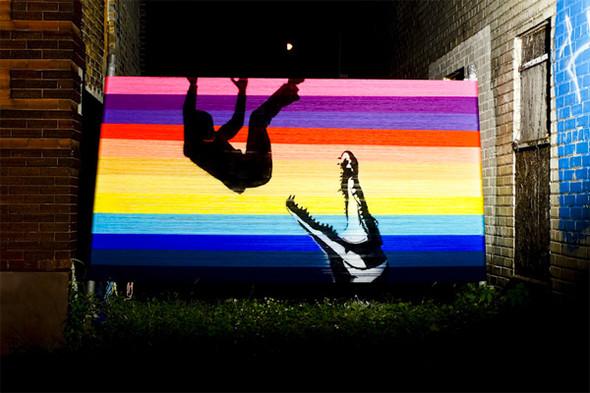 Лучшие стрит-арт проекты 2011 года. Изображение №28.