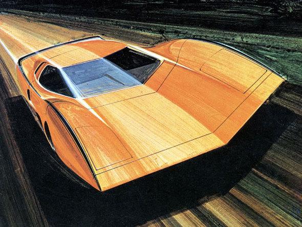 Десять лучших автомобильных проектов 60х-70х-80х годов. Изображение № 20.