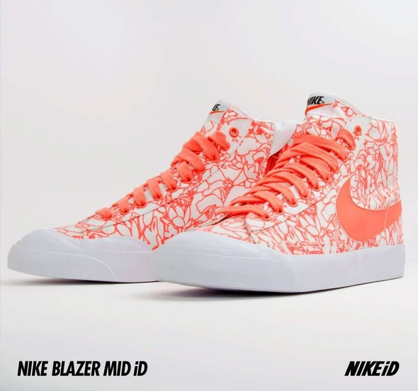 Nike X Liberty Summer Collection/  Blazer Mid iD.. Изображение № 28.