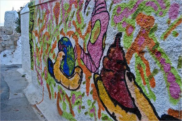 Стрит-арт и граффити Афин, Греция. Часть 2. Изображение № 36.