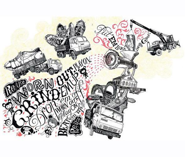 Личный опыт: 5 российских иллюстраторов, которые работают для зарубежных проектов. Изображение № 76.