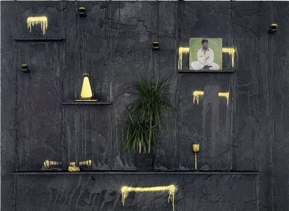 Шаманисткие исталляции из масла ши, воска и стали. Изображение № 6.