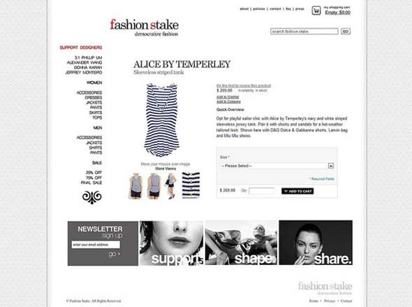 Демократизация моды: Fashion Stake. Изображение № 3.