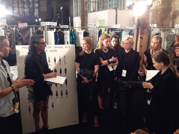Дневник модели: Эксклюзив для Proenza Schouler на Нью-Йоркской неделе моды. Изображение № 32.