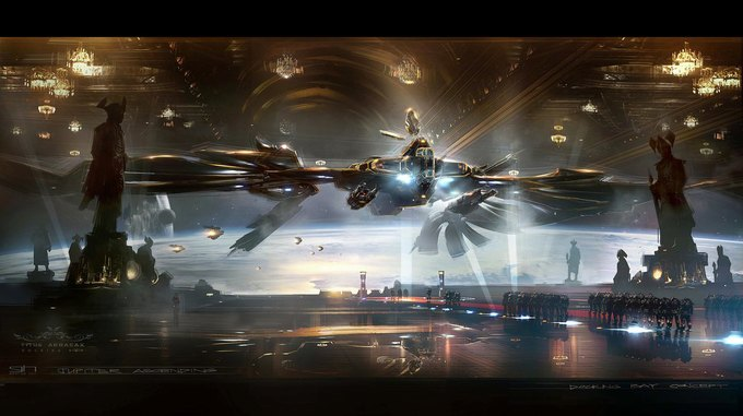 Художник «Восхождения Юпитер» выложил концепты к фильму. Изображение № 28.