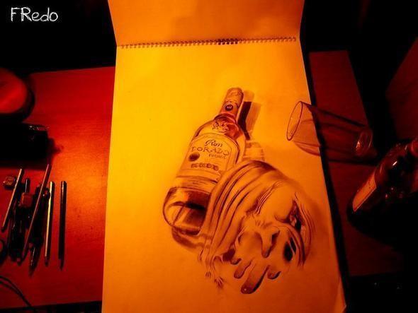 """Изображение 21. Реалистичные 3D рисунки """"в карандаше"""".. Изображение № 21."""