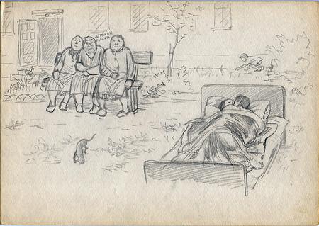 Рисунки втетради. Изображение № 18.