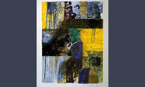 """""""Иосиф Бродский"""", 1994, бумага, смешанная техника, 80-60 см. . Изображение № 14."""
