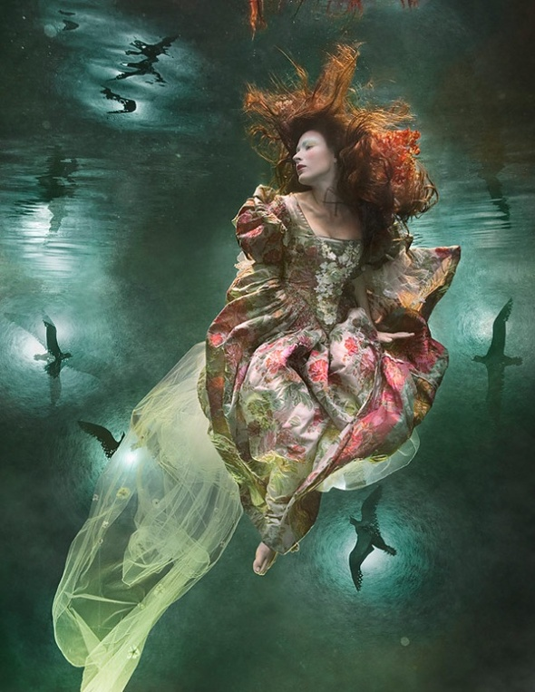 Подводная «художница» – Зена Холлоуэй. Изображение № 2.