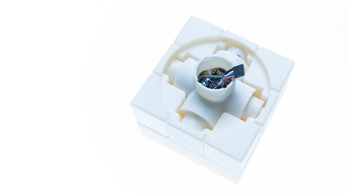 Кубик Рубика управляет освещением здания . Изображение № 4.