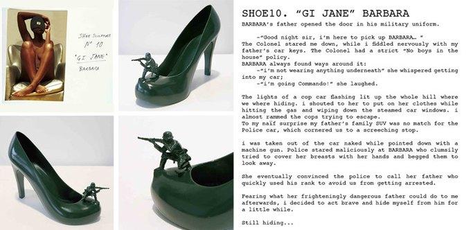 Дизайнер распечатал коллекцию туфель на 3D-принтере. Изображение № 10.
