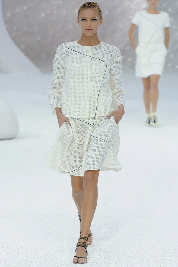 Chanel на Парижской неделе моды. Изображение № 6.