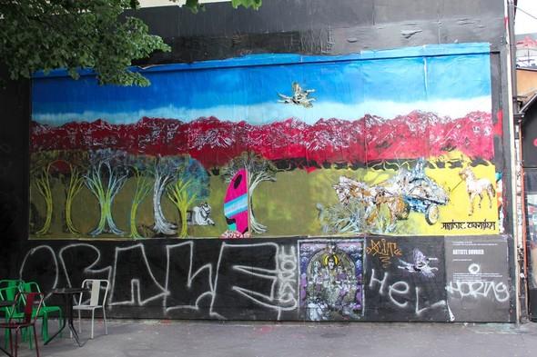 Стрит-арт центра Парижа. Изображение № 26.