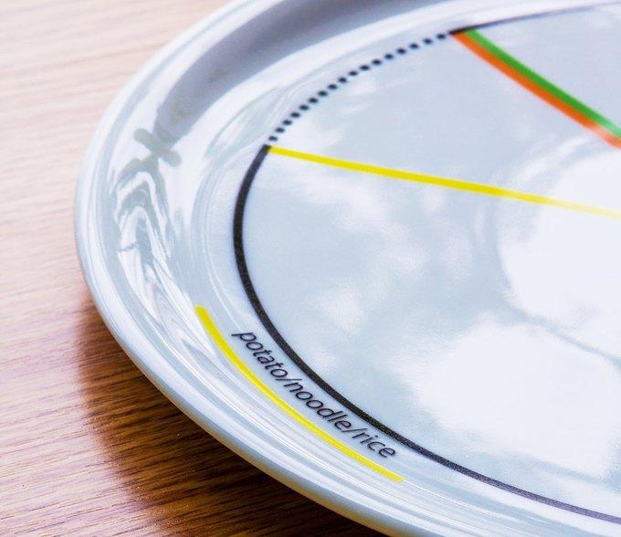 Дизайнеры создали тарелку, помогающую не переедать. Изображение № 1.