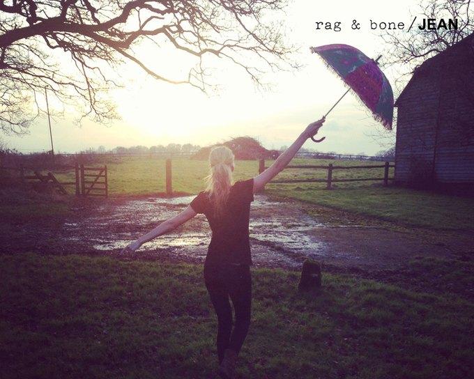 Камила Роу сняла Поппи Делевинь для Rag & Bone. Изображение № 21.
