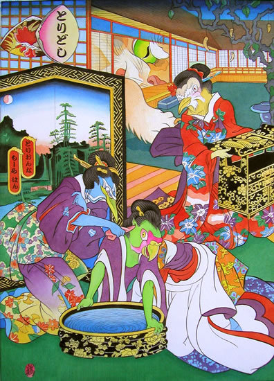 Звериная Япония Мойры Хан. Изображение № 10.